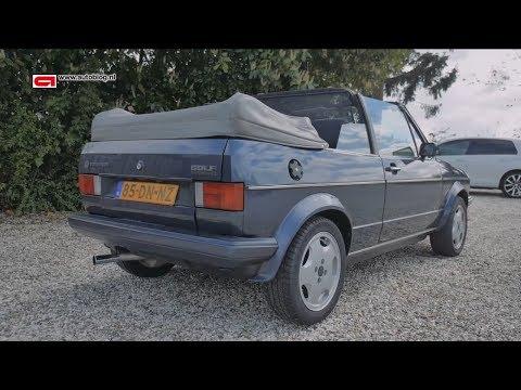 Mijn auto: Volkswagen Golf 1 Cabrio (Dutch, no subs)