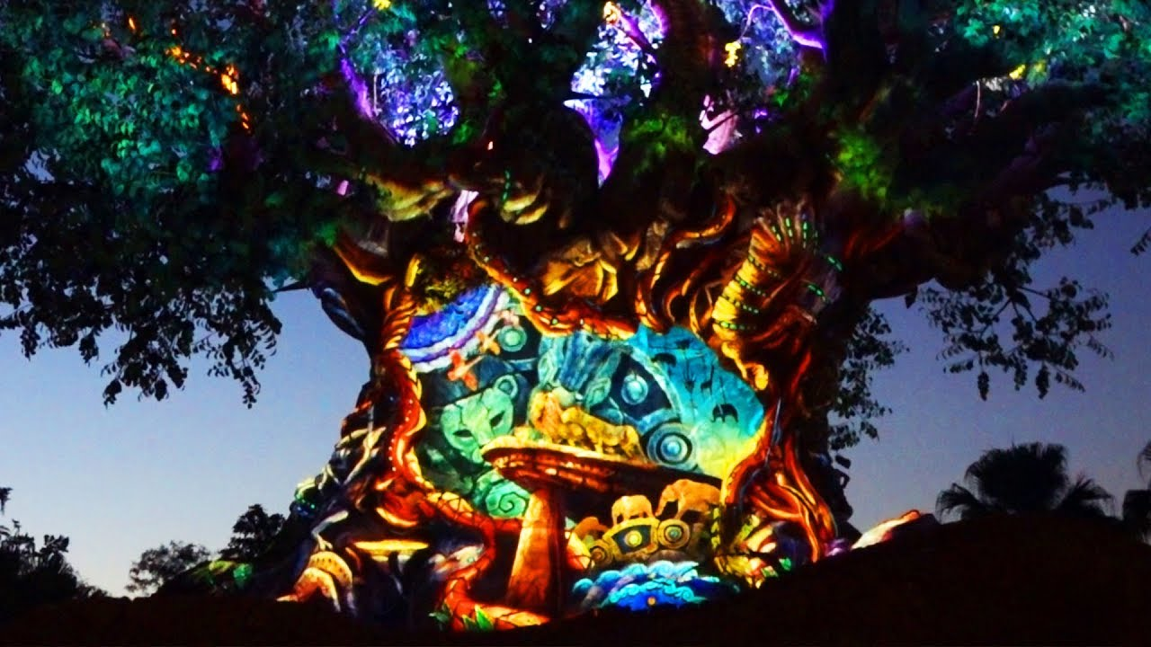 The Tree Of Life Awakens To Scenes From The Lion King Youtube