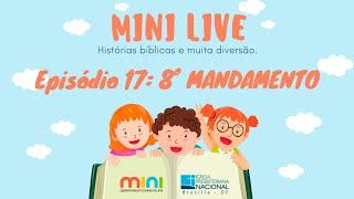 MINI LIVE IPNONLINE Episódio 17: 8° Mandamento (Lic. Davi Medeiros) - 02/06/2020
