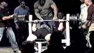 scot mendelson 715 raw bench press world record