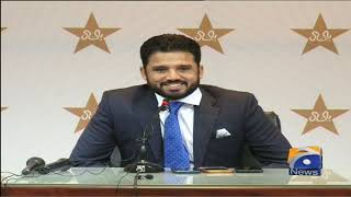 Pakistan Test Cricket Team ke Captain Azhar Ali ki Press Conference