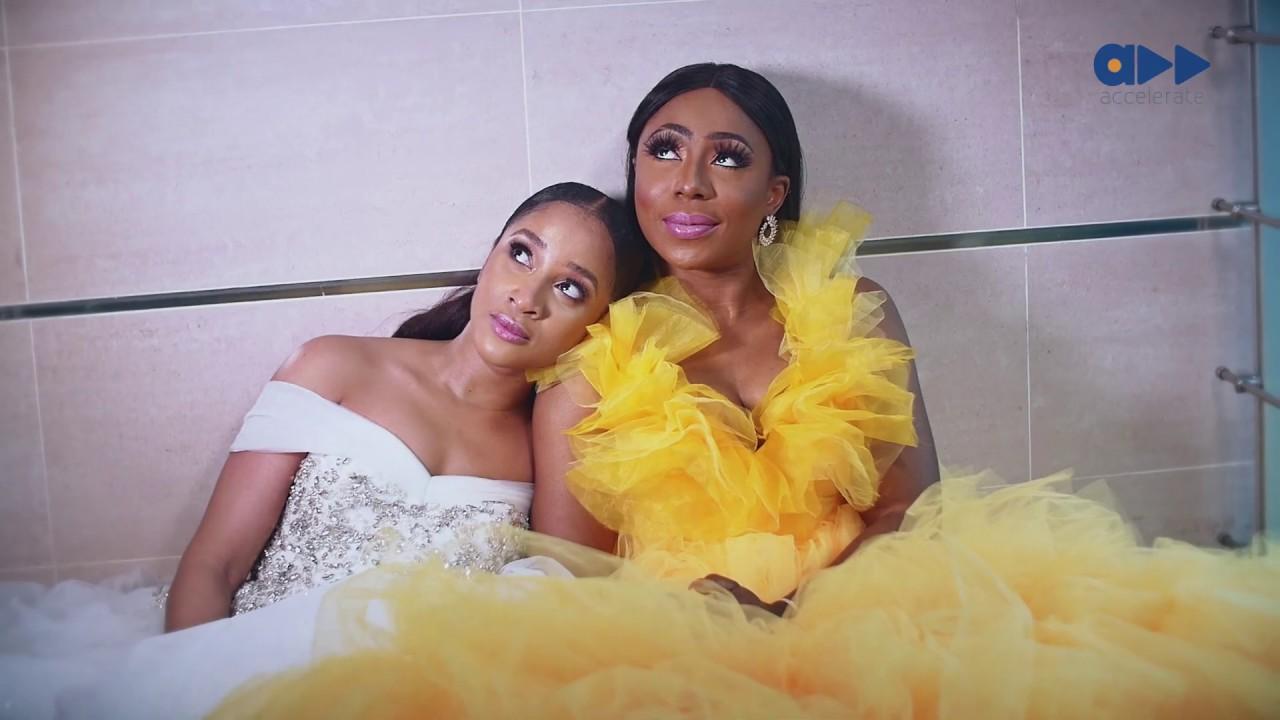 Download The Cover- Nollywood's  Finest, Dakore Egbuson- Akande & Adesua Etomi-Wellington