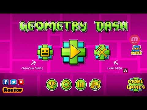 Mi primer.gameplay de geometry dash