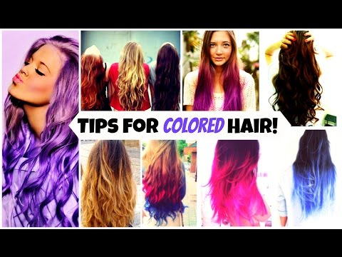 tips-for-color-treated-hair!-&-how-to-maintain-it-♡
