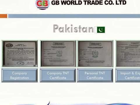 GB World Trade Korea Used Cloth & Shoes Company