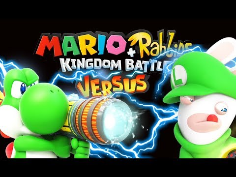 Mario + Rabbids Kingdom Battle Versus Part 3 Yoshi Vs Rabbid Luigi