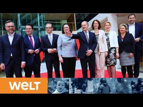 Sozialdemokraten stellen sich auf: Mit dieser Mannschaft will die SPD kräftig mitregieren