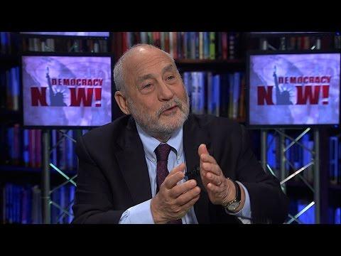 """A Very Big Mistake"": Joseph Stiglitz Slams Obama for Pushing the TPP"