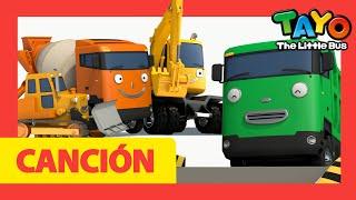 Tayo Cancion de los colores para niños l Vehículos pesados Canción familiar de dedos l Tayo Autobús