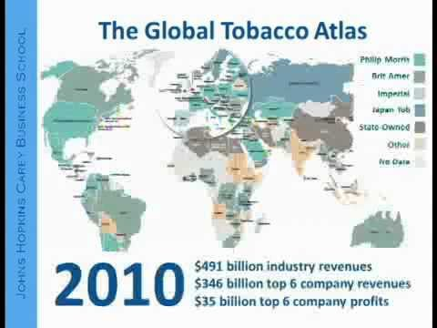 Lindsay Thompson: Big Tobacco: A Business Perspective (lecture)