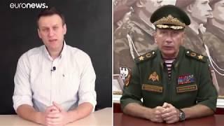 Путинский цепной пёс угрожает физической расправой Навальному (12/09/2018)
