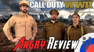 Angry Joe Call Of Duty WWII RUS VO