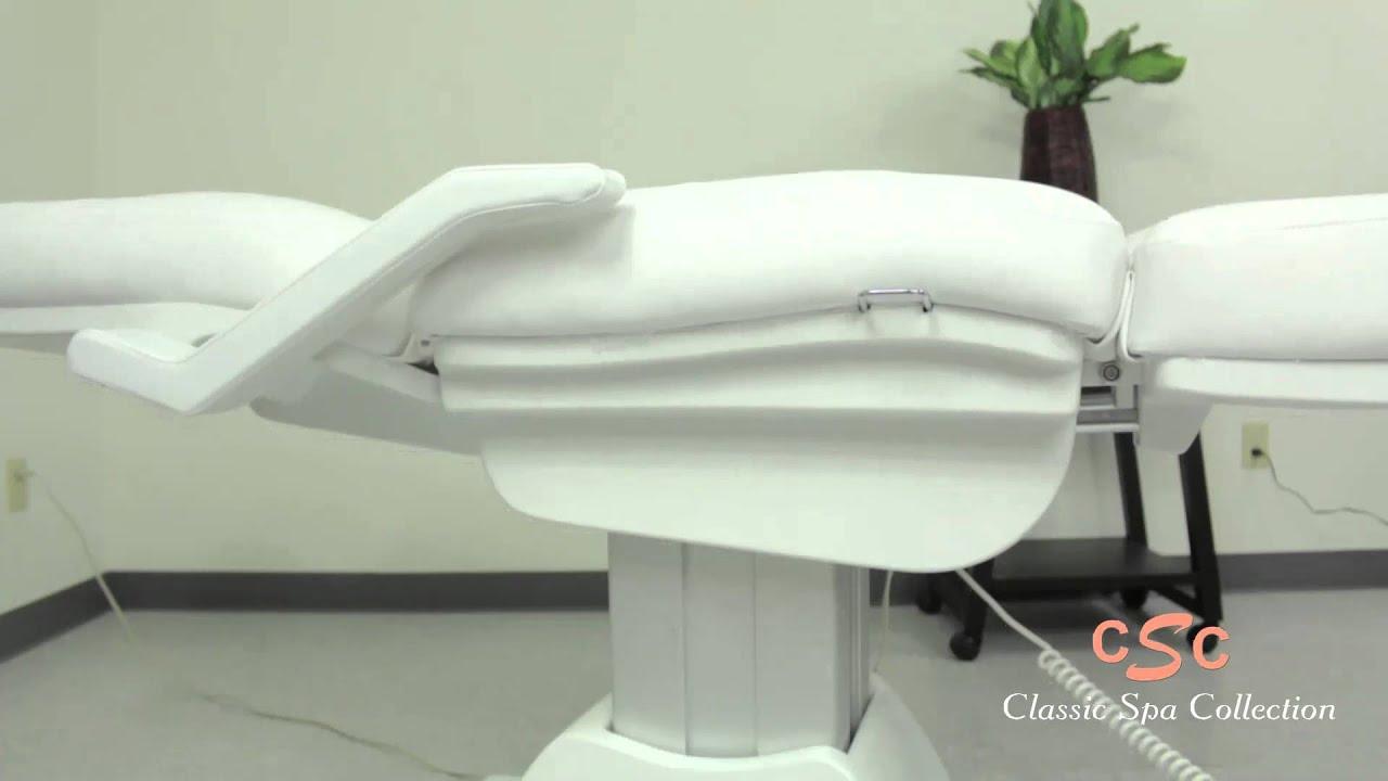 5 Motor Electric Facial Bed w Split Legs