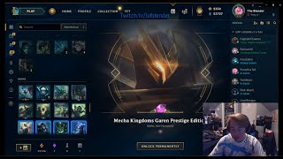 OVER 1000 SKINS IN LEAGUE!!! MECHA ORBS OPENING LEAGUE OF LEGENDS!!