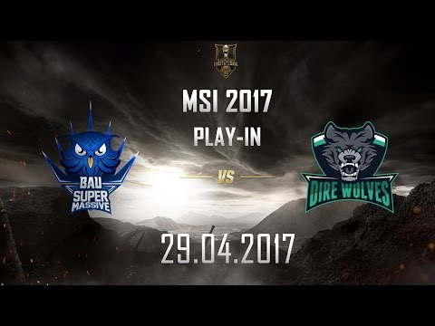 [29.04.2017] SUP vs DW [MSI 2017][Play-in]