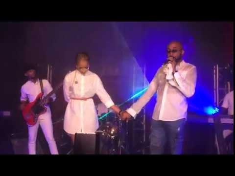 Complete Video of Banky W and Adesuwa Etomi's Duet song Performance