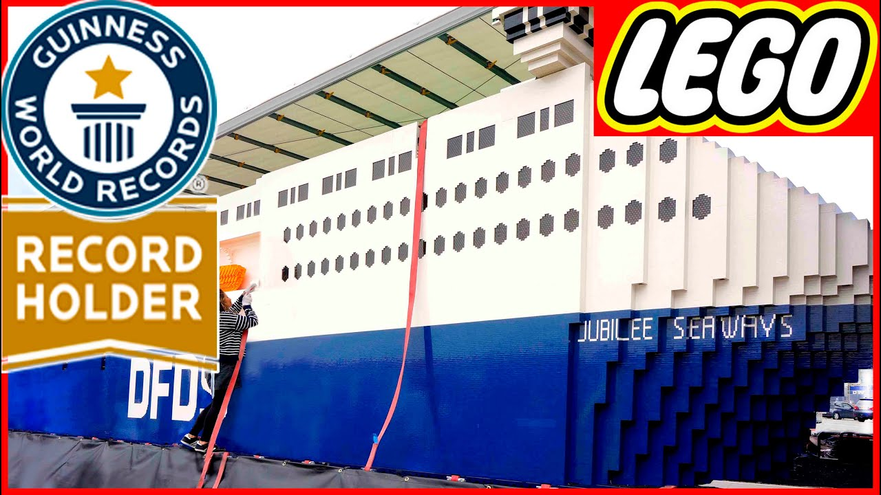 NEW WORLDS BIGGEST LEGO SHIP EVER NEW GUINNESS RECORD Of Top - Biggest lego ship