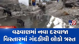Surendranagar: Residents of Wadhwan face trouble due to overflowing gutter | TV9News