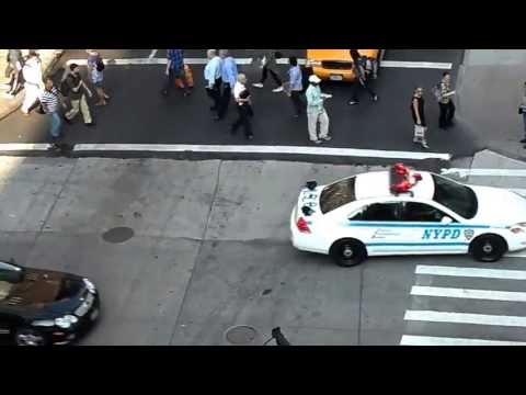NYPD in action