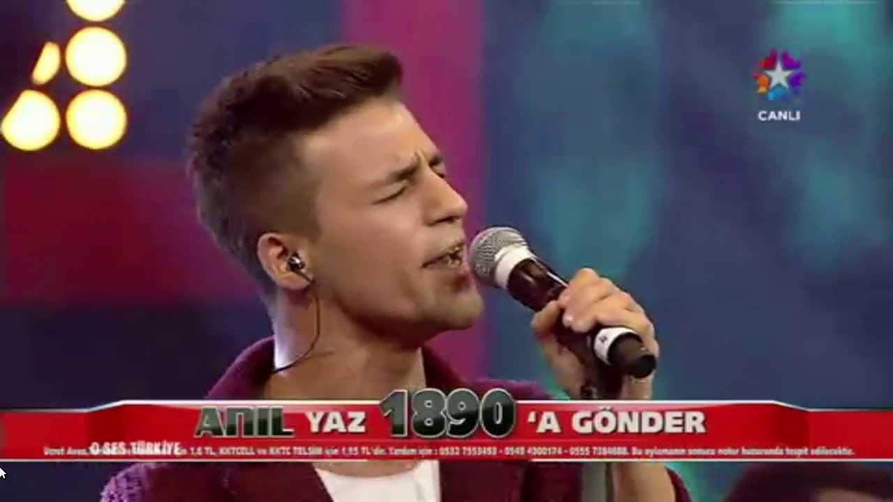 Anil Durmus Unutamam O Ses Turkiye Ceyrek Final 6 Ocak 2014 Youtube