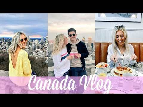 BACK HOME AFTER 4 YEARS! CANADA TRAVEL VLOG, MONTREAL! OLD PORT, POUTINE... | Em Sheldon
