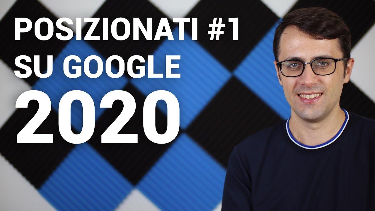 SEO per principianti: 3 metodi SEO per posizionarti #1 su Google nel 2020