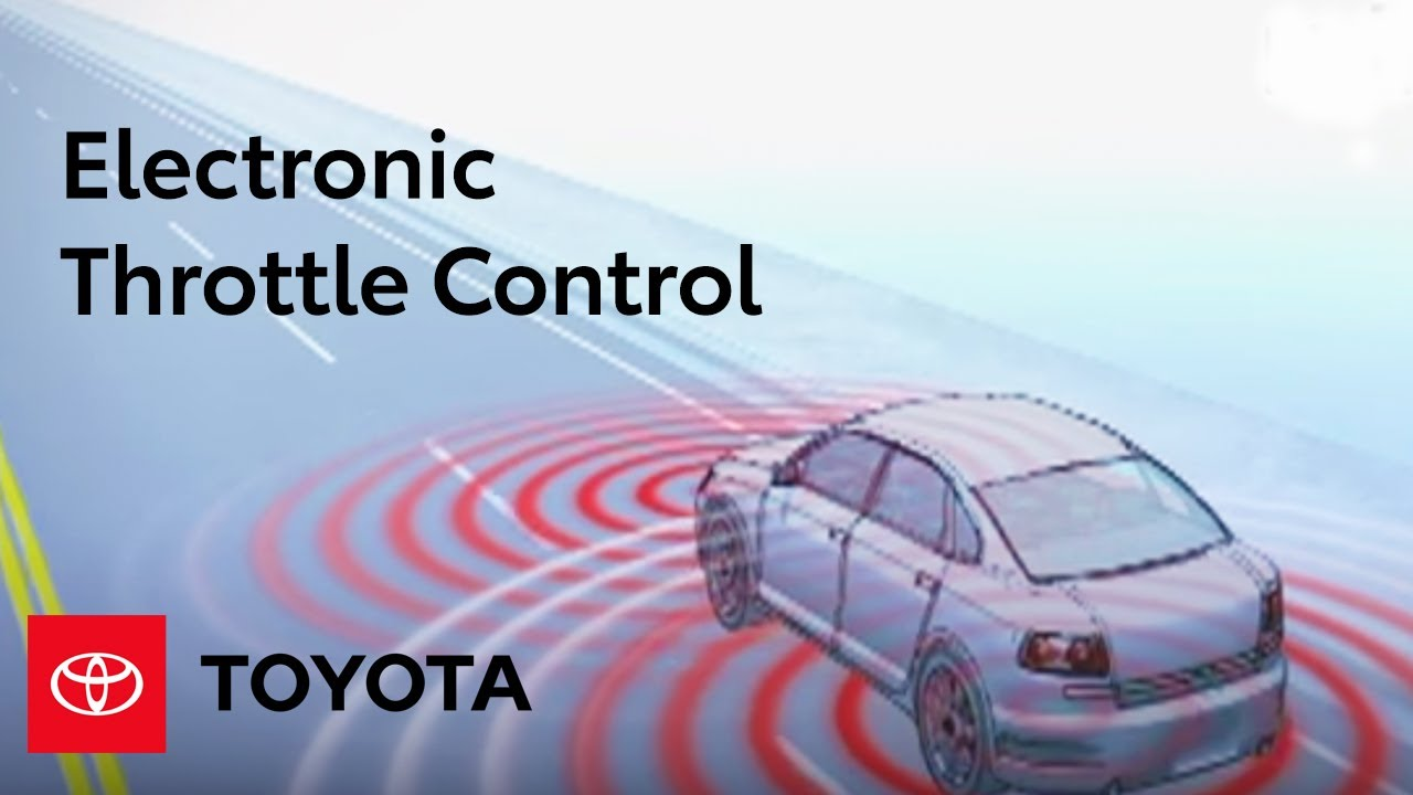 hight resolution of electronic throttle control toyota