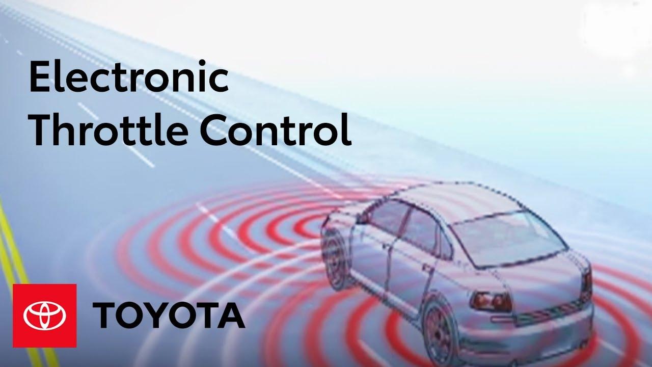 2002 Toyota Tundra Wiring Diagram Electronic Throttle Control Toyota Youtube