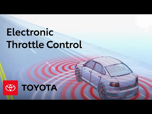 How Electronic Throttle Control Works