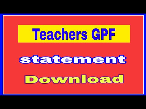 Download Gpf Online Statement Download MP3, MKV, MP4