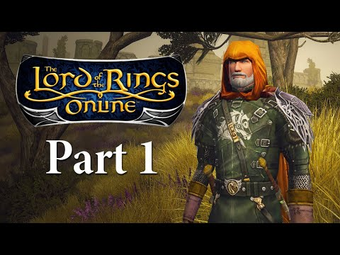 Lord of the Rings Online Gameplay Part 1 - New Character - Let's Play Playthrough