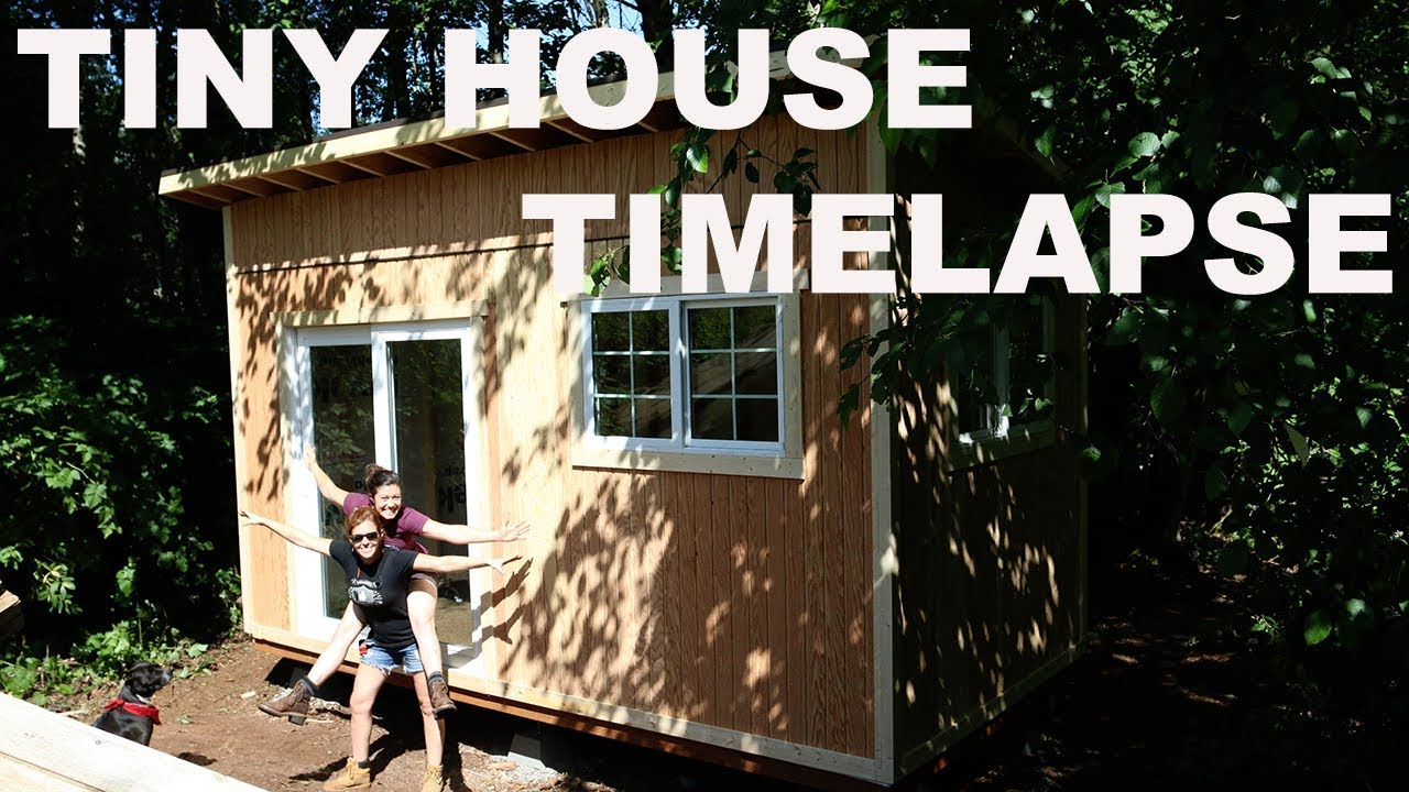 Tiny House Build Timelapse Youtube