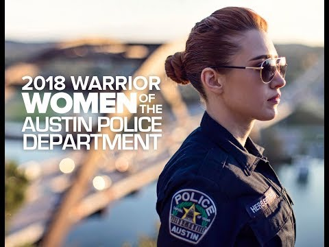 2018 Warrior Women of the Austin Police Department