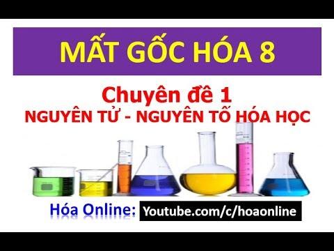Nguyên tử – Nguyên tố hóa học – Chuyên đề 1 || Mất gốc hóa 8