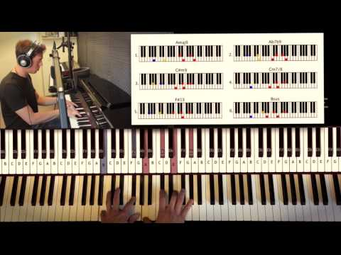 How to Play: Stevie Wonder - Isn't She Lovely (part 2)   Piano Tutorial by Piano Couture
