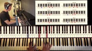 How to Play: Stevie Wonder - Isn't She Lovely (part 2) | Piano Tutorial by Piano Couture