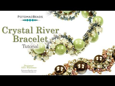 """Make a """" Crystal River """" Bracelet"""