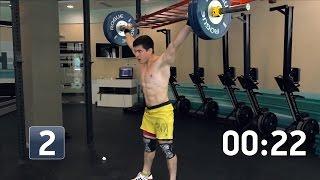 Сергей Бурцев: CrossFit WOD Heavy Isabel (100 кг)