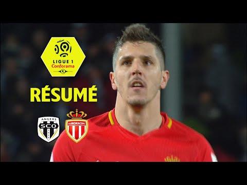 Angers SCO - AS Monaco (0-4)  - Résumé - (SCO - ASM) / 2017-18
