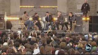 U2 Interview at Fordham University on Good Morning America Show