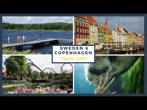 First Holiday Abroad With The Kids - Copenhagen and Sweden - TRAVEL VLOG