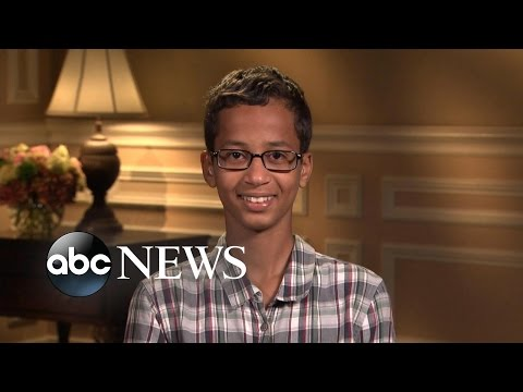 Ahmed Mohamed | Teen Arrested for Clock (INTERVIEW)