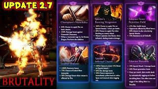 MK Mobile. Scorpion, Liu Kang and Jade Brutality. Update 2.7 News. This Gear Will BREAK The Game!