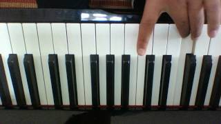Running Naughty Boy Ft Beyonce Piano Tutorial