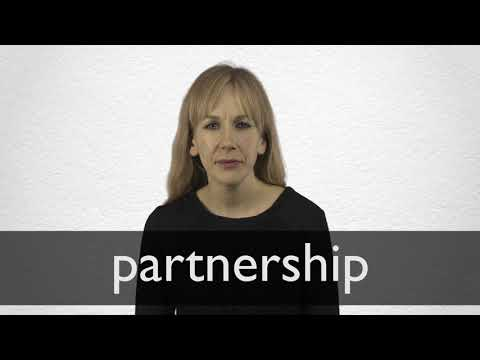 How to pronounce PARTNERSHIP in British English