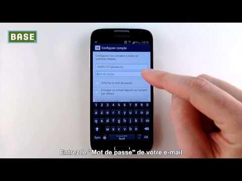 Configurez Votre Compte E-mail Sur Smartphone - Version Android
