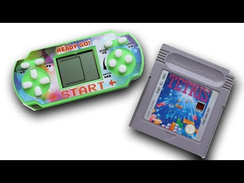 Worlds Cheapest Handheld Console - £1 Tetris!