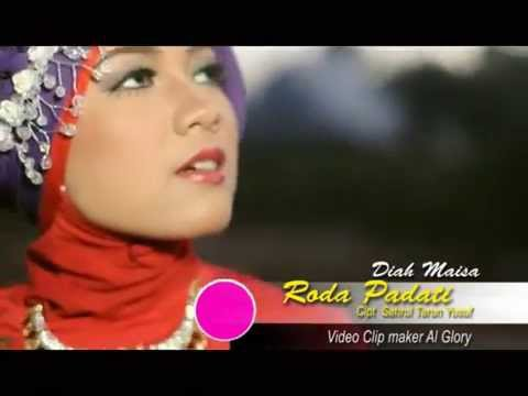 LAGU MINANG LEGENDARIS - RODA PADATI - DIAH MAISA - Video Al Glory
