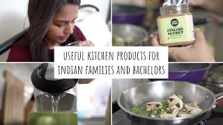 My Kitchen Favourites | Useful Kitchen Products for Indian Families and Bachelors | Kitchen Products