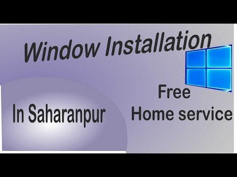 Windows installation service in Saharanpur with free home service